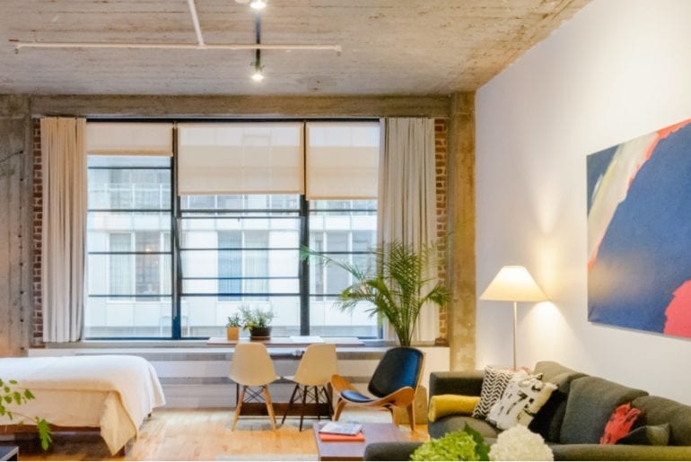 montreal old town loft airbnb