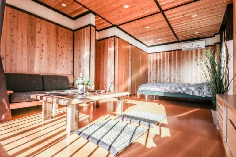 historic neighborhood tokyo airbnb