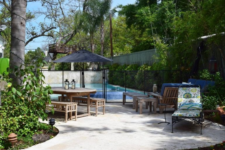 pool home houston airbnb