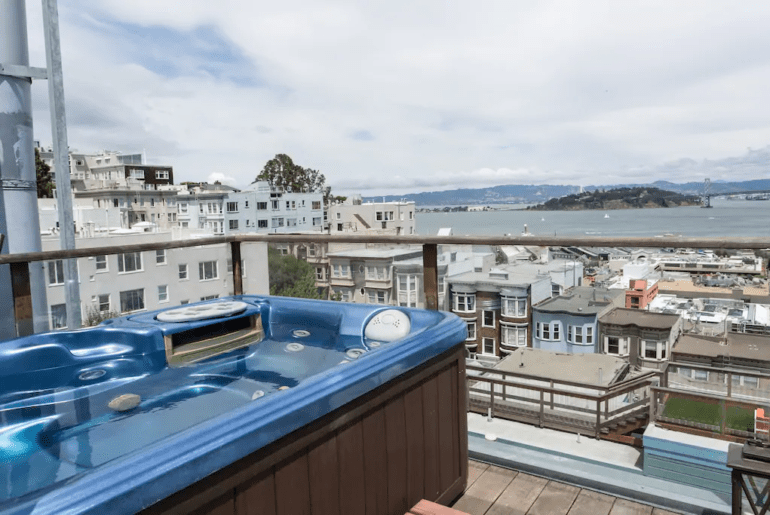 san francisco airbnb home with views
