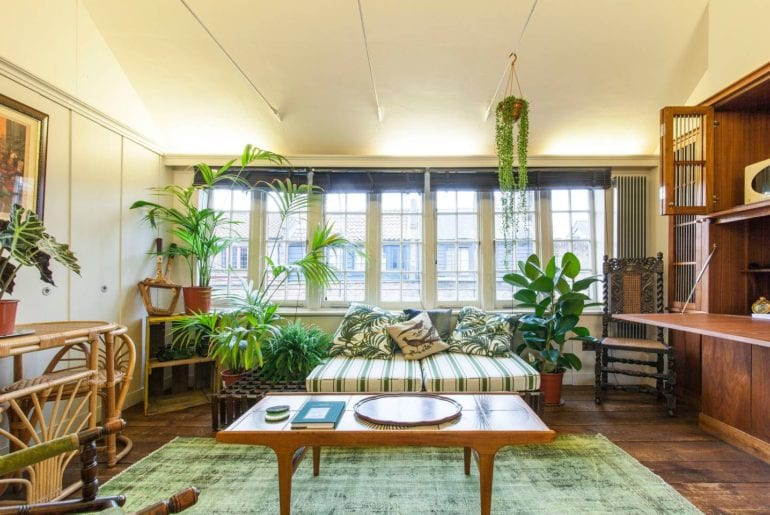 historic natural plant filled airbnb rental london