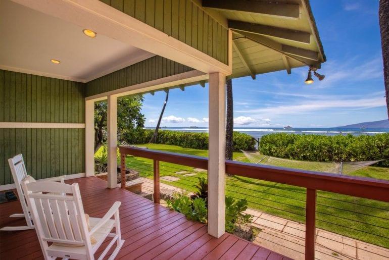airbnb plantation beachfront home on maui