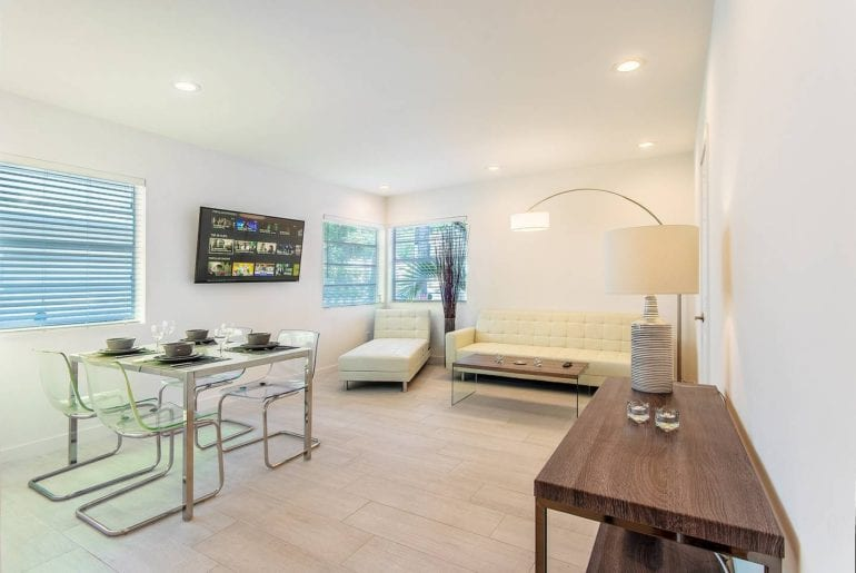 luxury airbnb flat in miami south beach