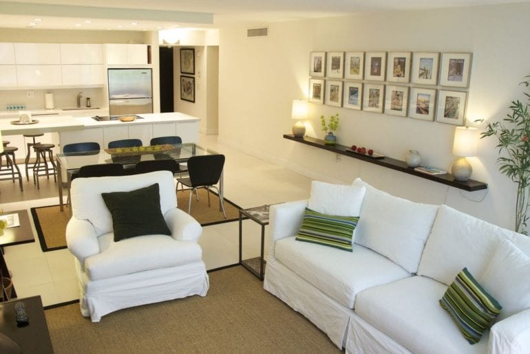 a Miami living area