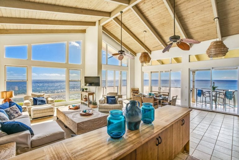 gorgeous airbnb koloa property right on the ocean