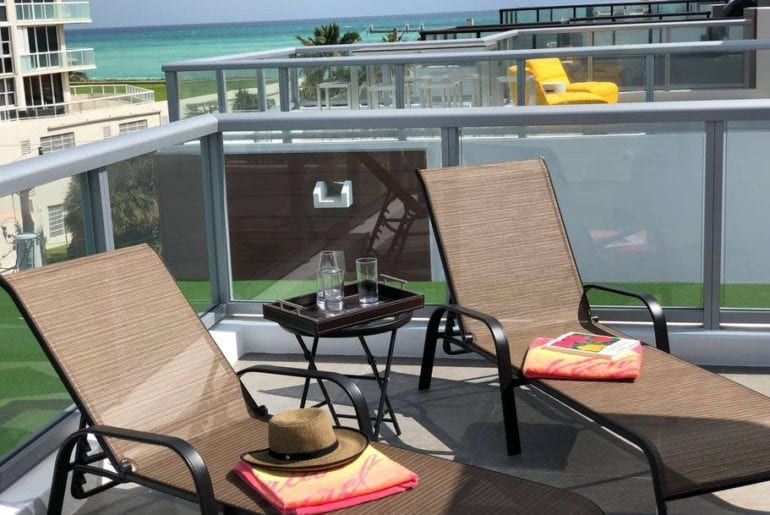 stunning oceanfront airbnb home in hollywood beach florida