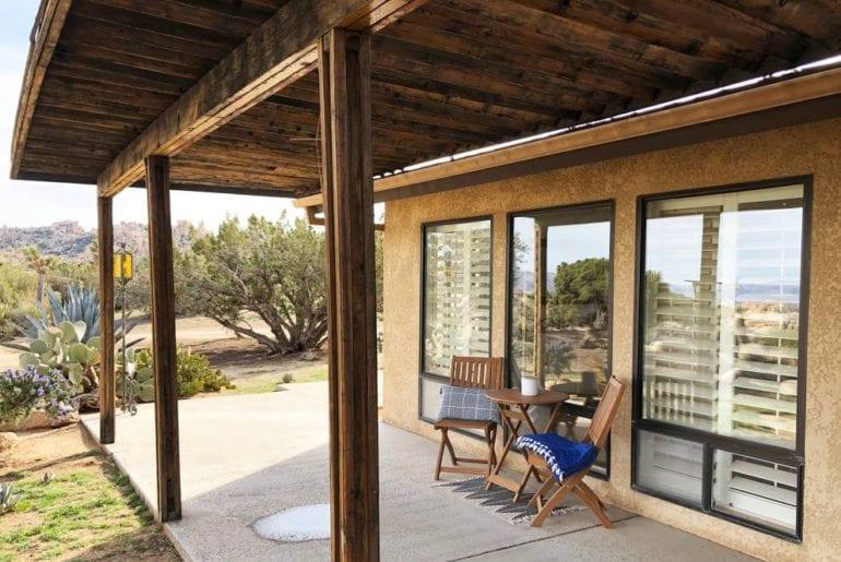 joshua tree airbnb pool and spa home
