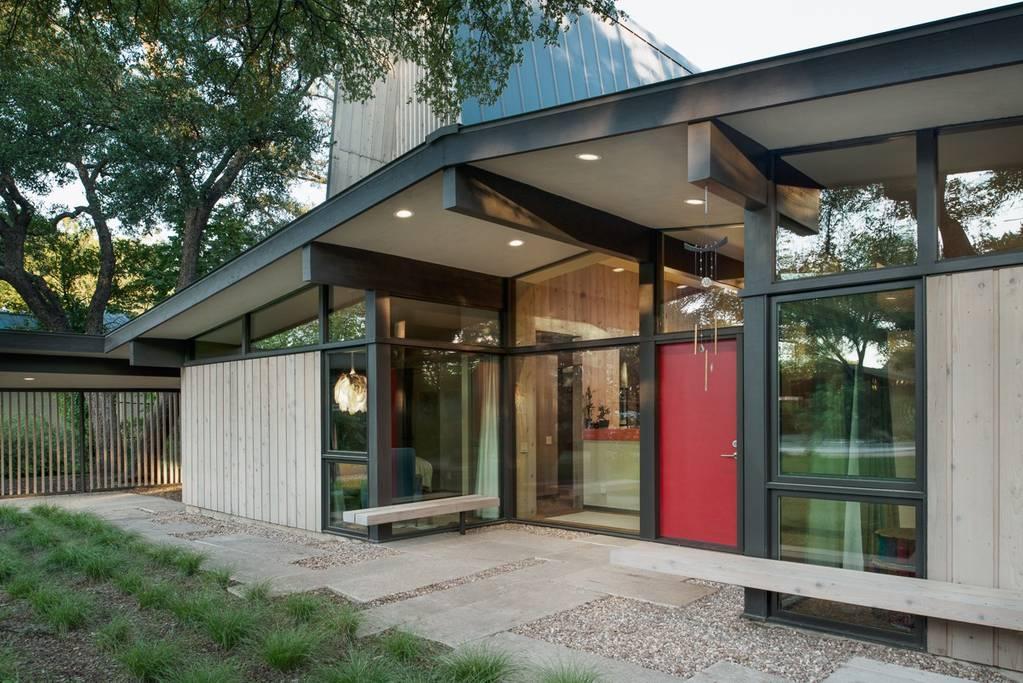 modern airbnb austin bungalow