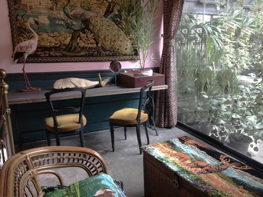 incredible animal themed airbnb in bangkok