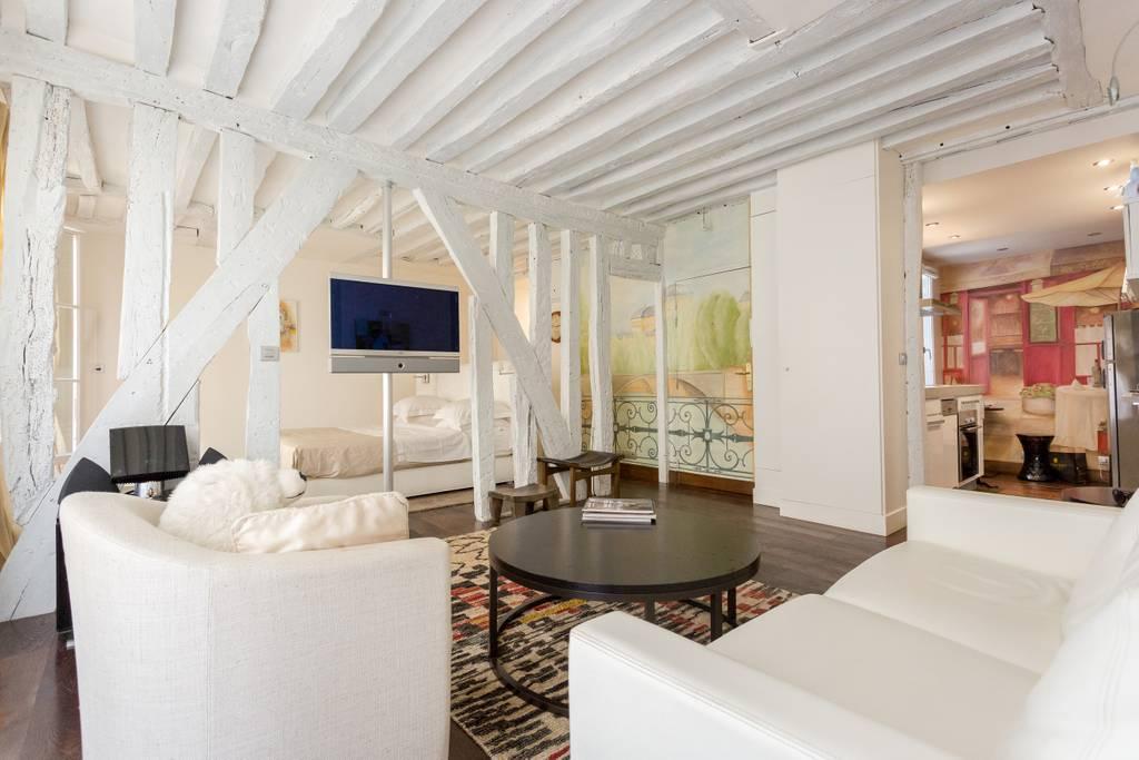old world studio airbnb paris