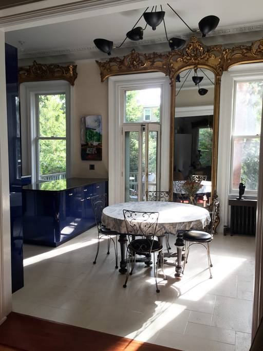 classic brooklyn townhouse airbnb new york