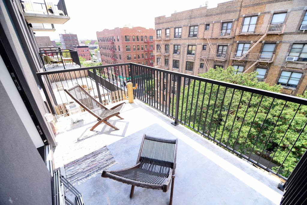trendy apartment in the heart of williamsburg with terrace