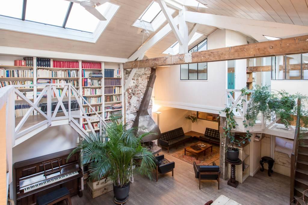 mini house airbnb loft in paris
