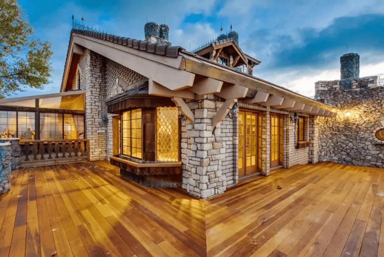 massive alpine castle style home airbnb