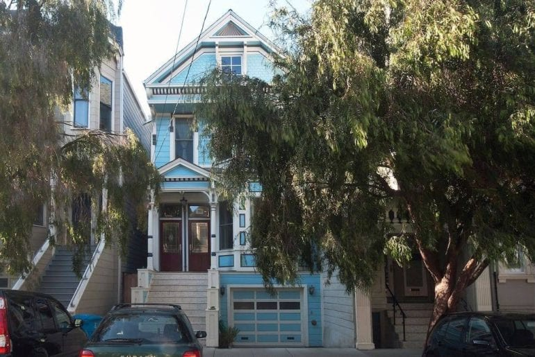 private victorian airbnb home alamo sqaure san francisco