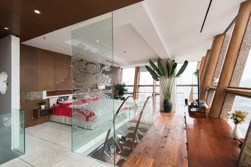 fantastic airbnb duplex in shanghai bund area
