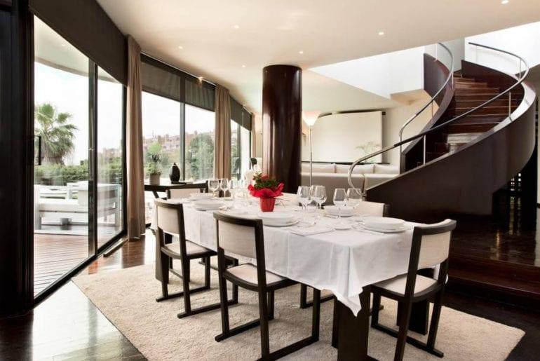 large and elegant estate airbnb barcelona