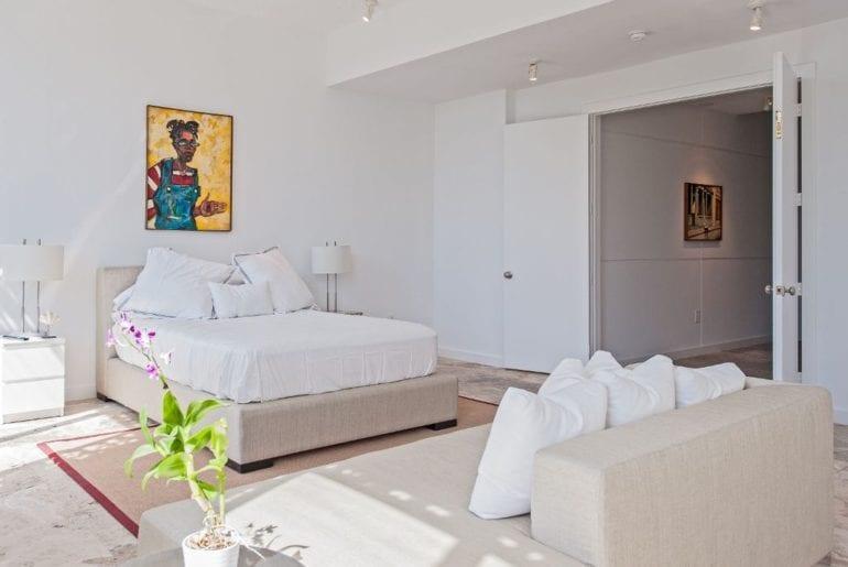 bedroom in Miami