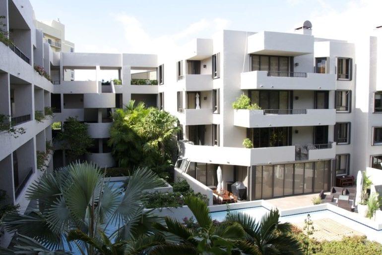 an apartment block in Miami
