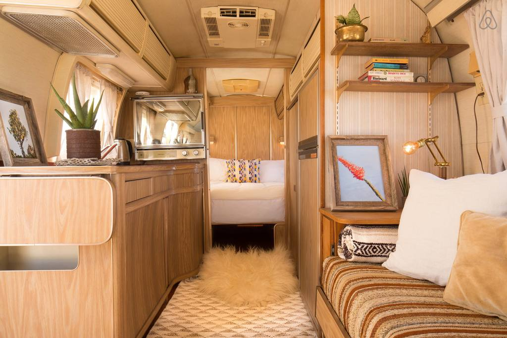 We Found 8 Of The Coolest Airstream Airbnb Homes In Joshua