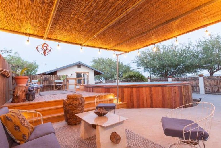 joshua tree airbnb home with pool