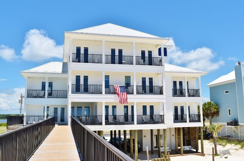 gulf shores beachfront home airbnb