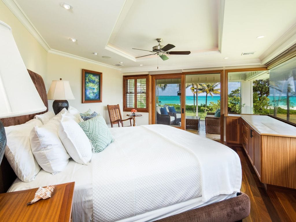 private luxury beachfront mansion airbnb oahu