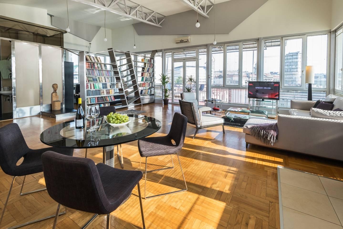 airbnb contemporary apartment belgrade central location
