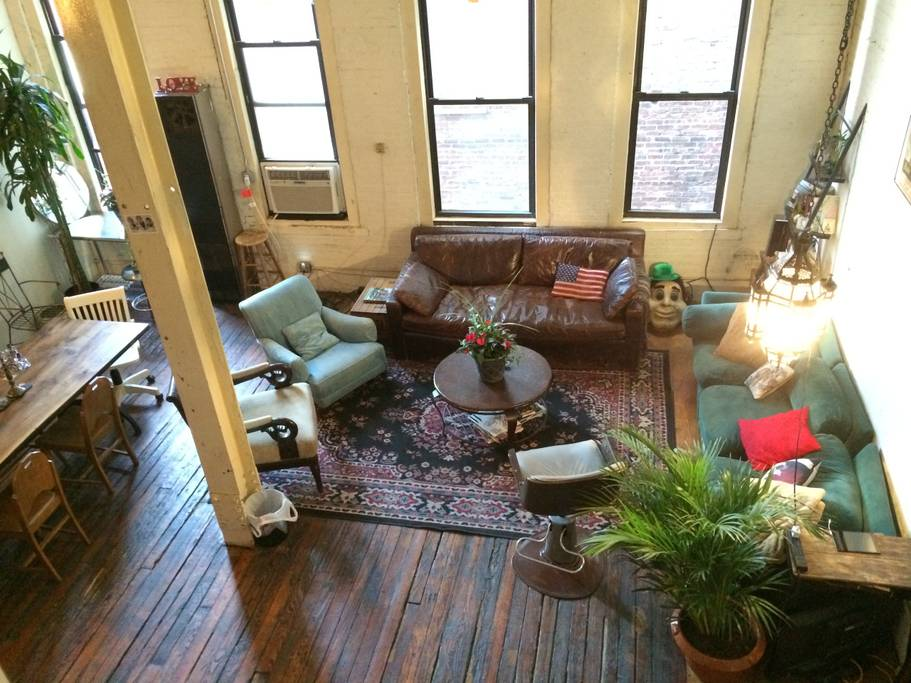 fantastic industrial style airbnb loft williamsburg
