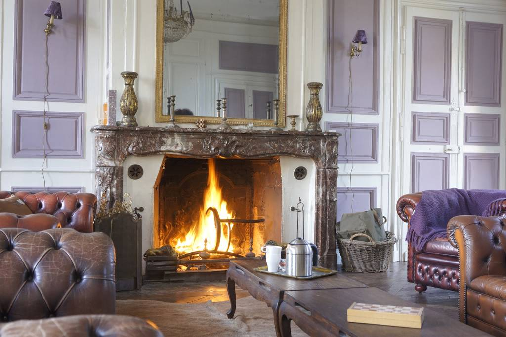 french chateau with walled garden airbnb