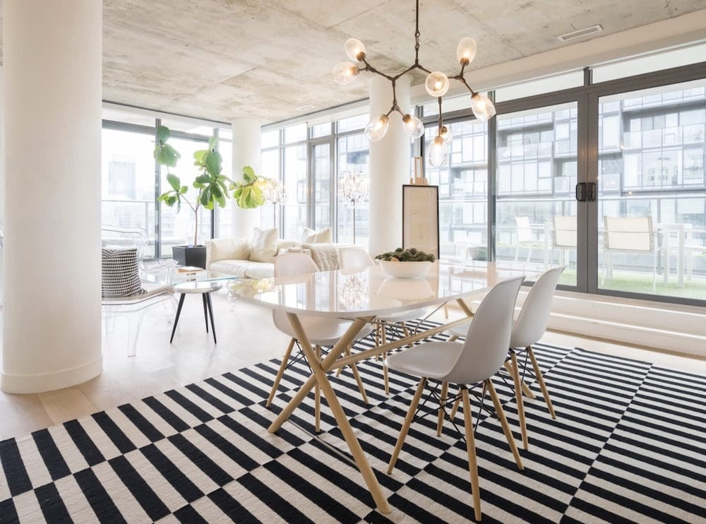 luxury airbnb loft with terrace airbnb toronto