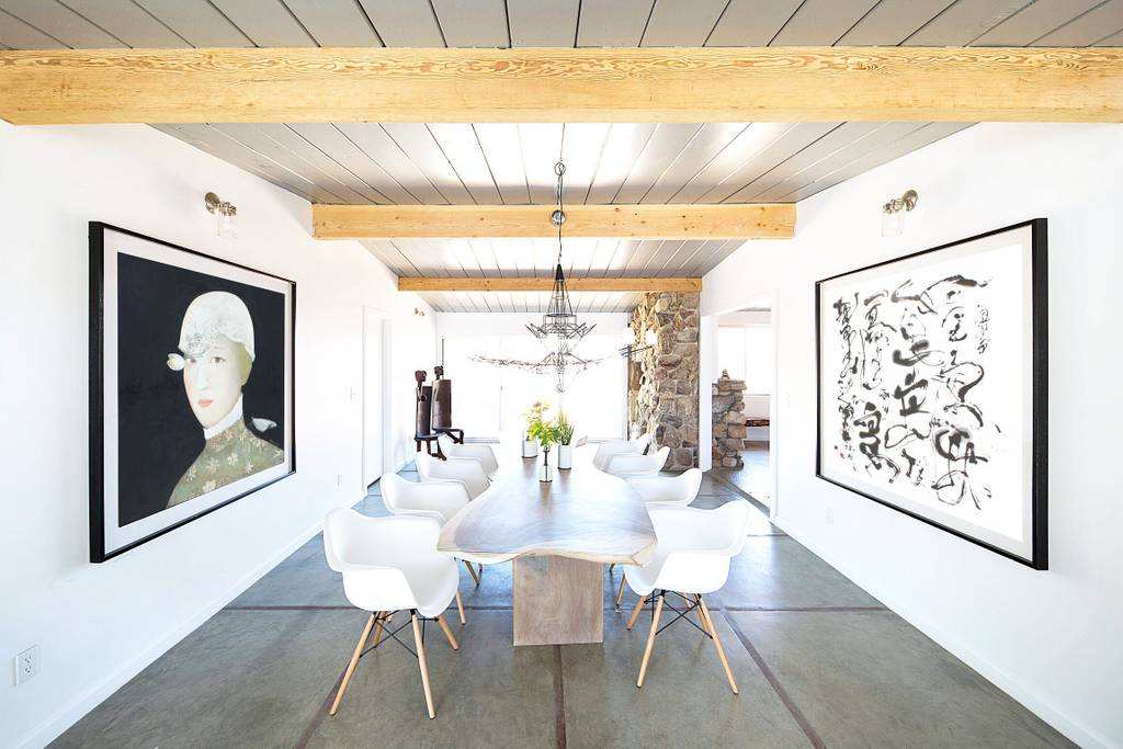 modern art style home close to coachella festival airbnb