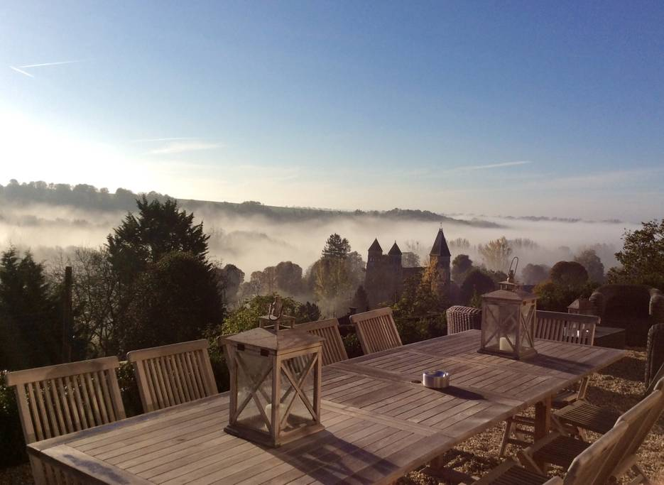 beautiful french chateau and farm airbnb