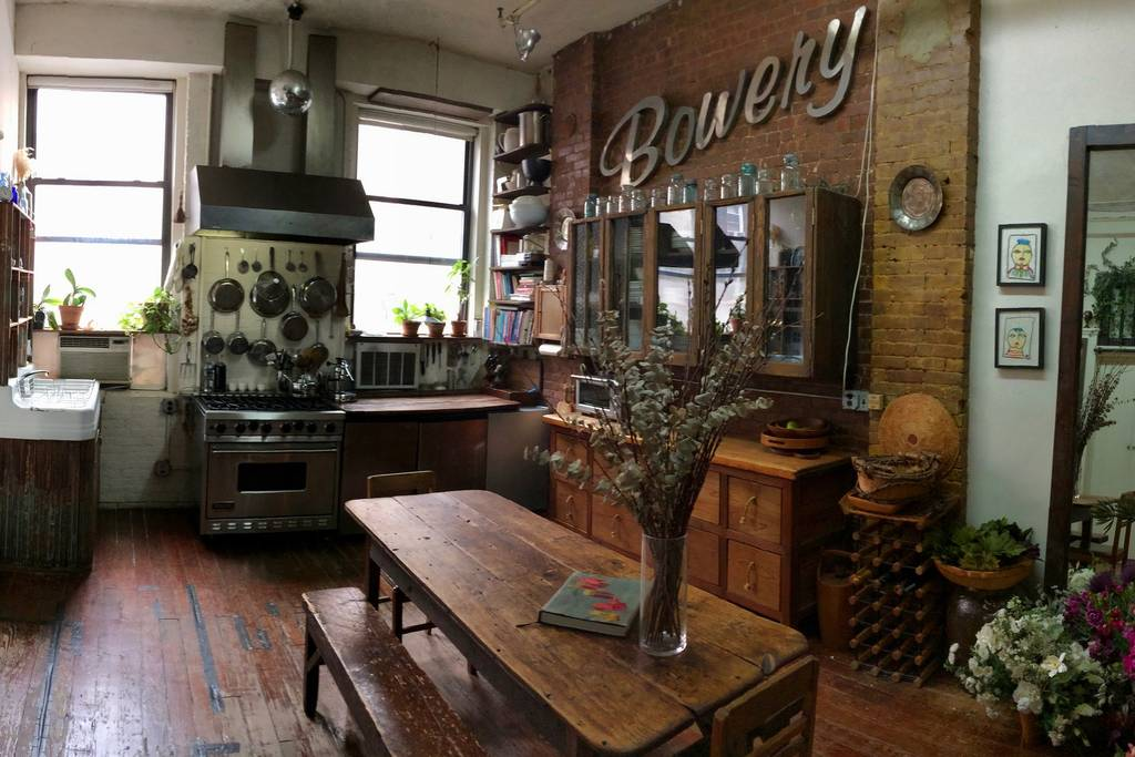 airbnb loft in bowery area new york city