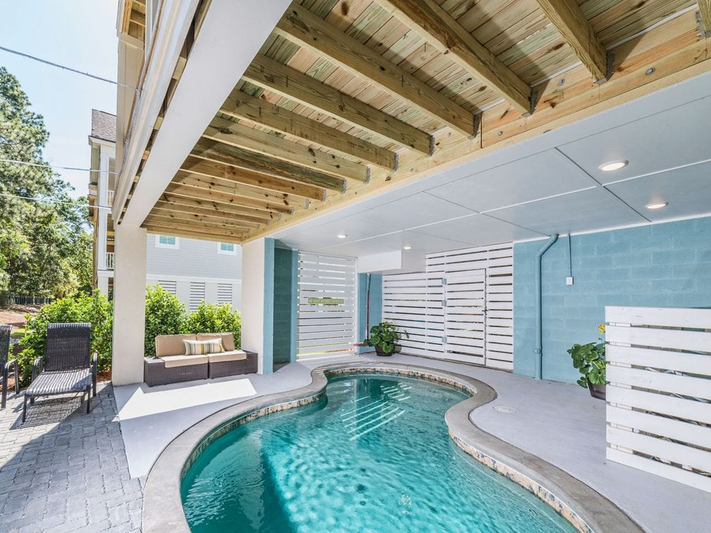 designer hilton head beach house with pool vrbo