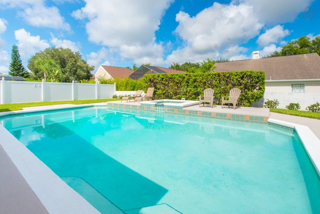 airbnb home with pool near universal Orlando