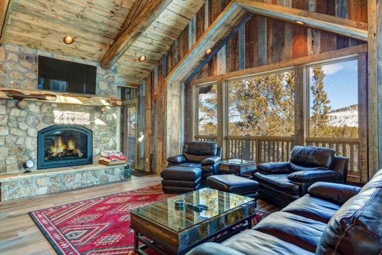 breckenridge airbnb chalet with hot tub