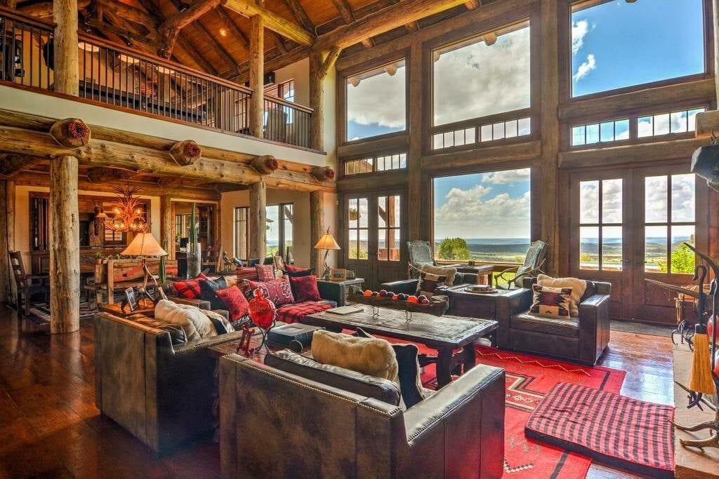 luxury santa fe ranch estate airbnb