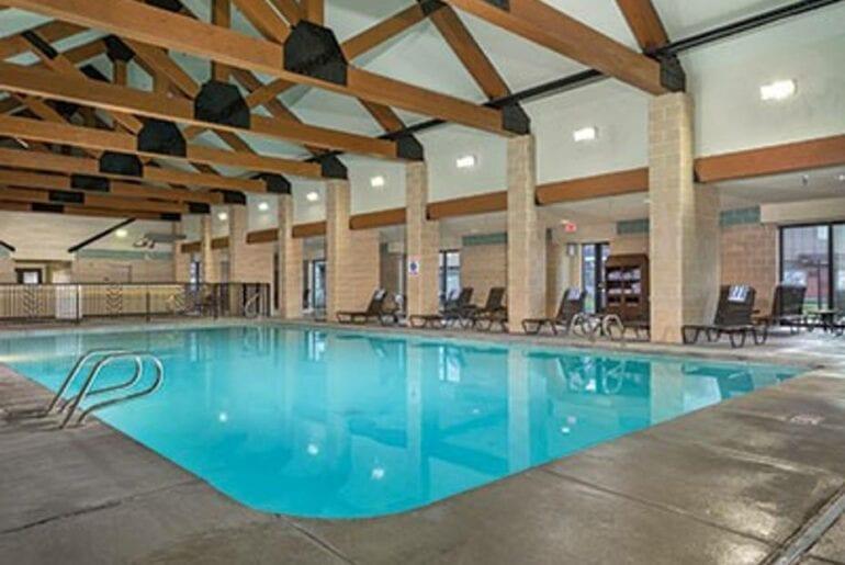 yellowstone airbnb pool home