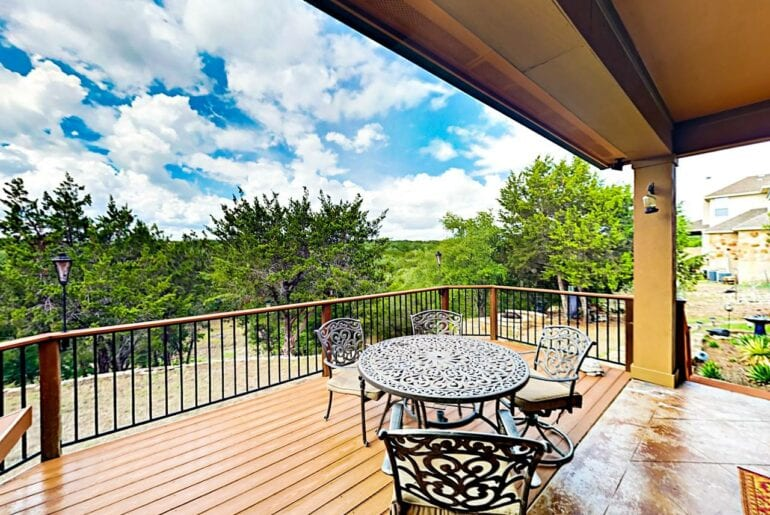 texas hill country airbnb home
