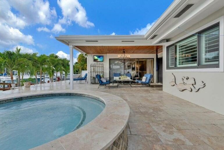 jupiter florida airbnb luxury pool home