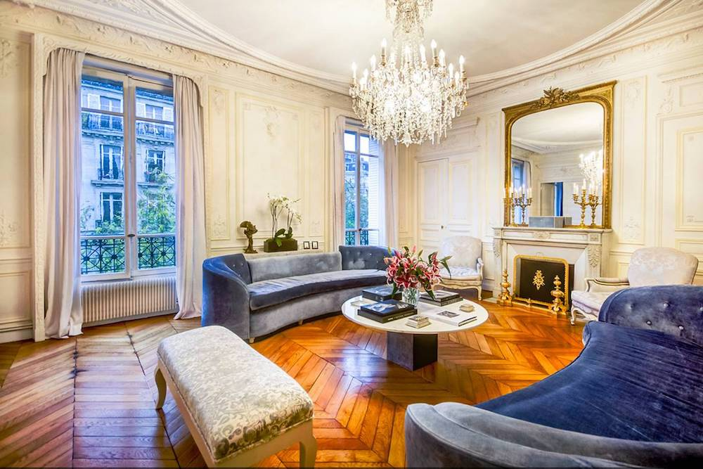 classically styled paris airbnb