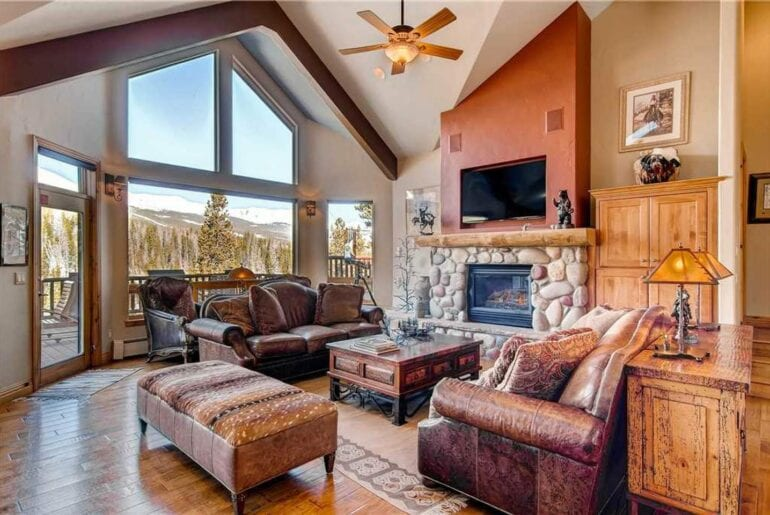 luxury ski home in colorado