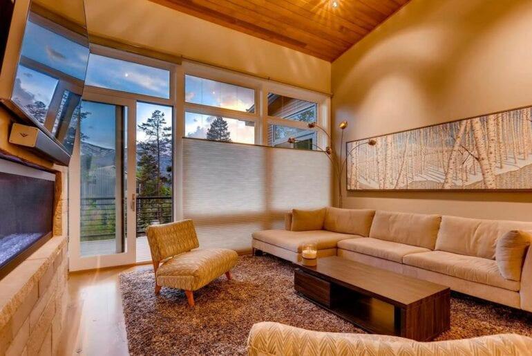 modern breckenridge airbnb home