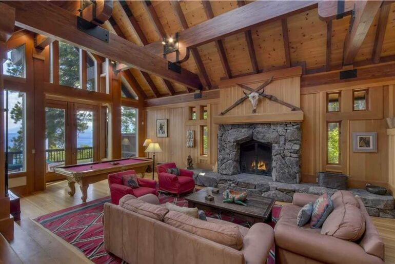 airbnb luxury home lake tahoe