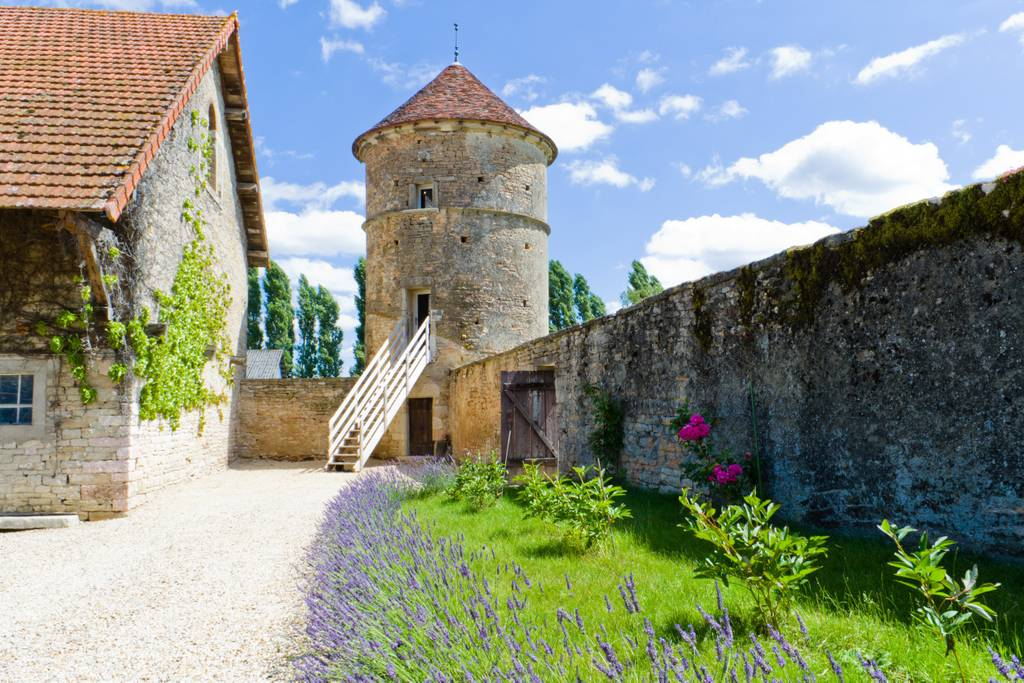 medieval watchtower converted home airbnb france