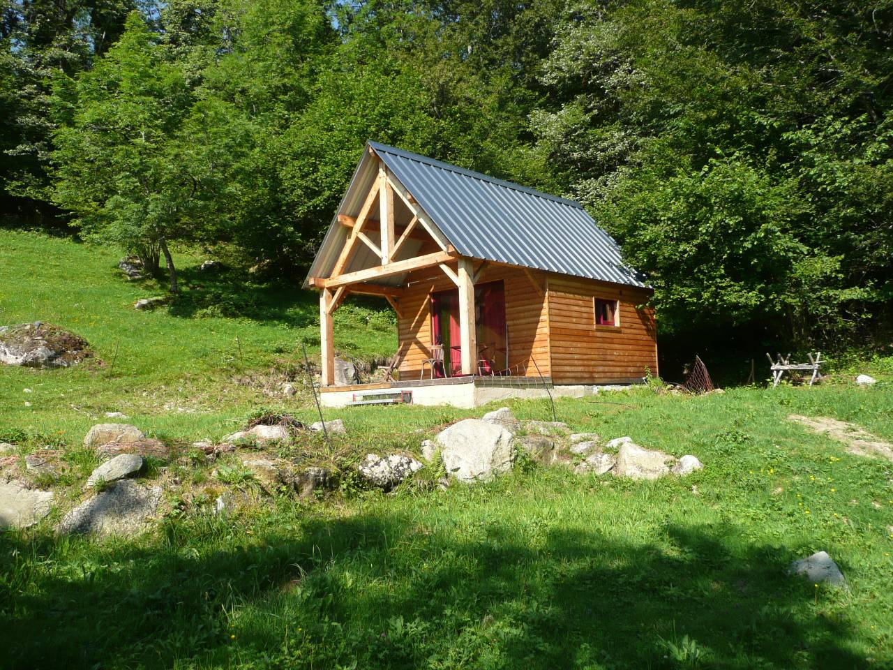 tiny house near lourdes airbnb france