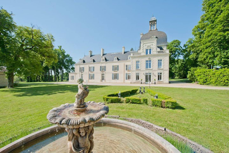 stunning french chateau on beautiful estate