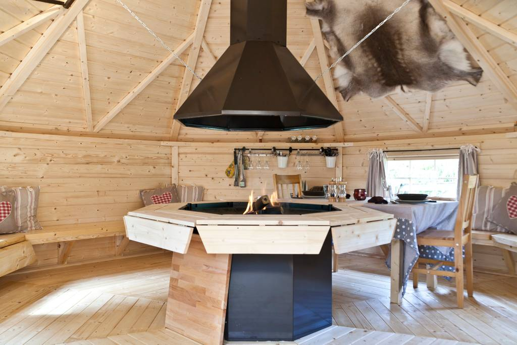 yurt style condo for gnomes airbnb france