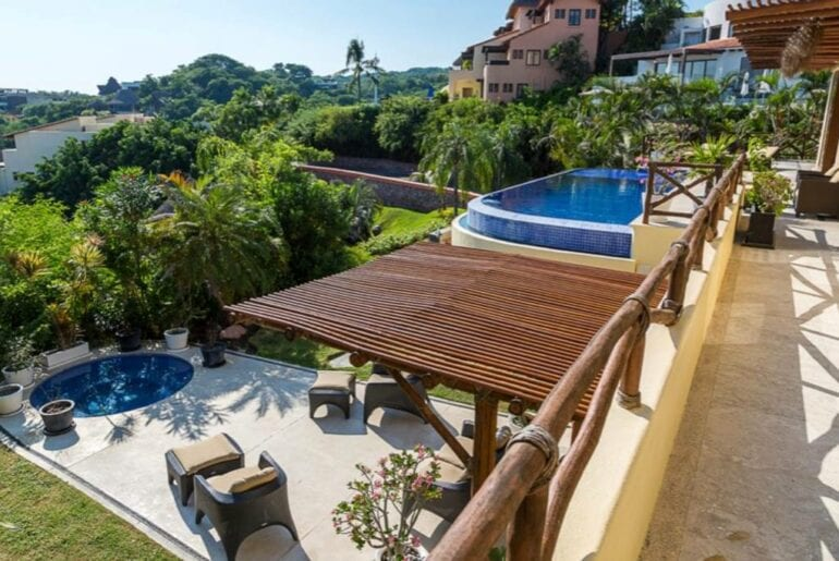 puerto vallarta villa with jacuzzi